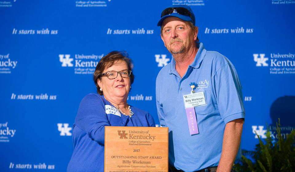 OSA Winner Billy Workman, Agriculture Construction Services