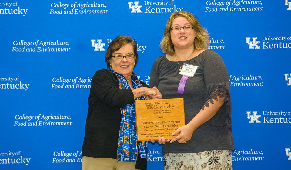 OSA Winner Lauren State Fernandez, Oldham County Extension
